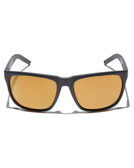 MATTE BLK GOLD STRPE MENS ACCESSORIES ELECTRIC SUNGLASSES - EE16065266MBKGS