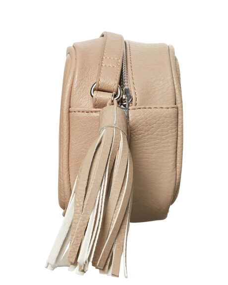 BEIGE WOMENS ACCESSORIES THERAPY HANDBAGS - 10980BGE
