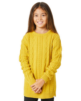 SULPHUR KIDS GIRLS MUNSTER KIDS JUMPERS + JACKETS - MM201FT01KSULP