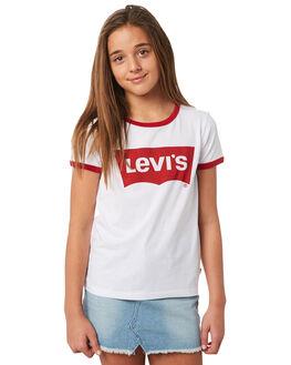 WHITE KIDS GIRLS LEVI'S TOPS - 37391-0168