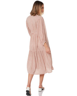 MAPLE BRICK WOMENS CLOTHING LILYA DRESSES - RVD2091-MP