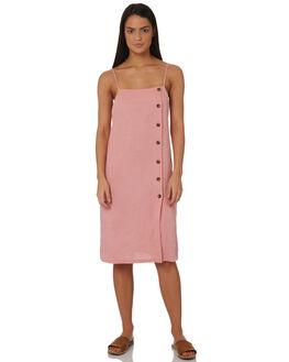 BLOSSOM WOMENS CLOTHING RUSTY DRESSES - DRL0919BLO