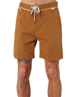 CAMEL MENS CLOTHING MCTAVISH BOARDSHORTS - MS-19BS-03CAM