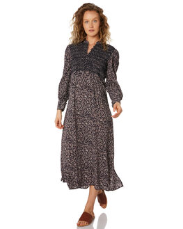 MIDNIGHT FLORAL WOMENS CLOTHING SAINT HELENA DRESSES - SHS192201MIDFL