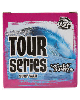 NATURAL BOARDSPORTS SURF STICKY BUMPS WAX - SB76CL-ANAT