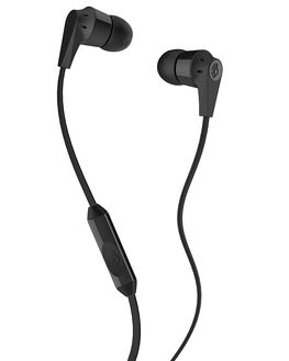 BLACK MENS ACCESSORIES SKULLCANDY AUDIO + CAMERAS - S2IKDY-003BLK
