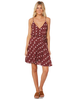 PLUM WOMENS CLOTHING SEAFOLLY DRESSES - 53407-DRPLM