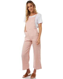 DUSTY PINK WOMENS CLOTHING LILYA PLAYSUITS + OVERALLS - LNJS11-PRLAW18DSTPK