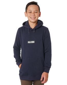 ARGON BLUE KIDS BOYS GLOBE JUMPERS + JACKETS - GB41833001ARGB