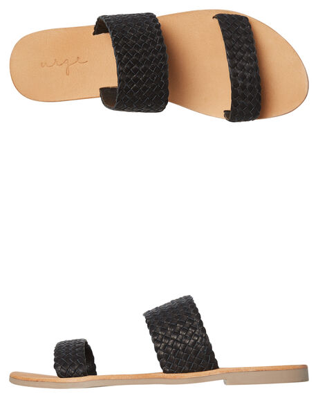 BLACK WOMENS FOOTWEAR URGE FASHION SANDALS - URG17156BLK