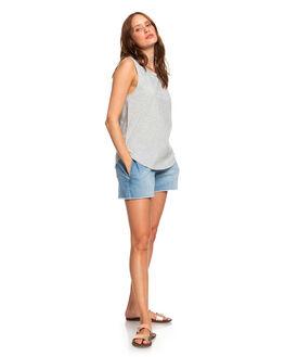 HERITAGE HEATHER WOMENS CLOTHING ROXY SINGLETS - ERJZT04763-SGRH