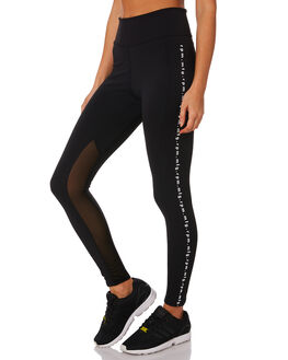 BLACK WOMENS CLOTHING RPM PANTS - 9WWB01ABLK