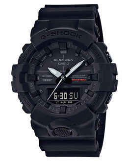 BLACK BLACK MENS ACCESSORIES G SHOCK WATCHES - GA835A-1ABLKBK