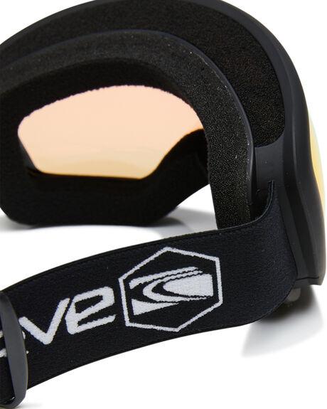 MATT BLACK ORANGE BOARDSPORTS SNOW CARVE GOGGLES - 6026MBLKO