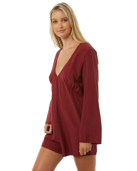 SYRAH WOMENS CLOTHING AFENDS PLAYSUITS + OVERALLS - W181852SRH