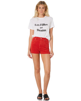 CHERRY WOMENS CLOTHING A.BRAND SHORTS - 71397-2873