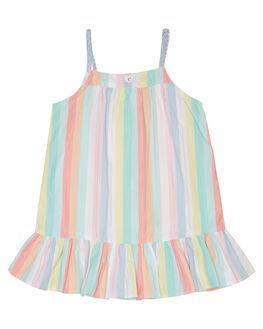 MULTI STRIPE KIDS TODDLER GIRLS EVES SISTER DRESSES + PLAYSUITS - 8021049STR