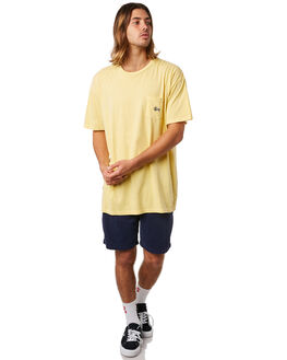 MELLOW YELLOW MENS CLOTHING STUSSY TEES - ST082001MLYEL