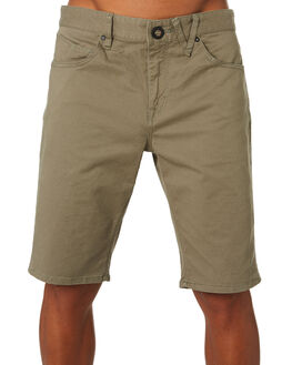 ARMY GREEN COMBO MENS CLOTHING VOLCOM SHORTS - A0911708ARC