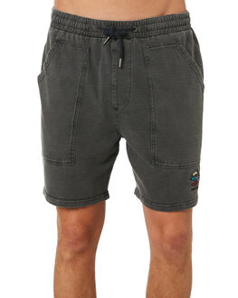 JET BLACK MENS CLOTHING RIP CURL SHORTS - CWAAS94284
