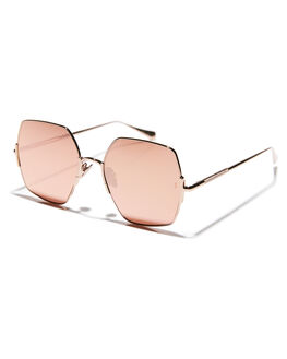 ROSE WOMENS ACCESSORIES SUNDAY SOMEWHERE SUNGLASSES - SUN174-ROS-SUNROSE