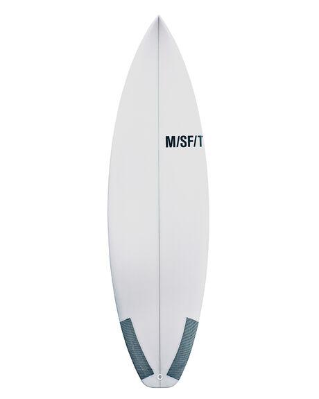 CLEAR BOARDSPORTS SURF MISFIT SURFBOARDS - TRUFSHUF