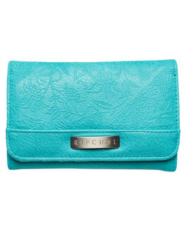 TURQUOISE WOMENS ACCESSORIES RIP CURL PURSES + WALLETS - LWUFU10074