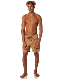 BURNT KHAKI MENS CLOTHING BANKS BOARDSHORTS - BS0217BTK