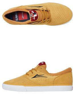 GOLD MENS FOOTWEAR LAKAI SNEAKERS - MS3190244A00GOLD