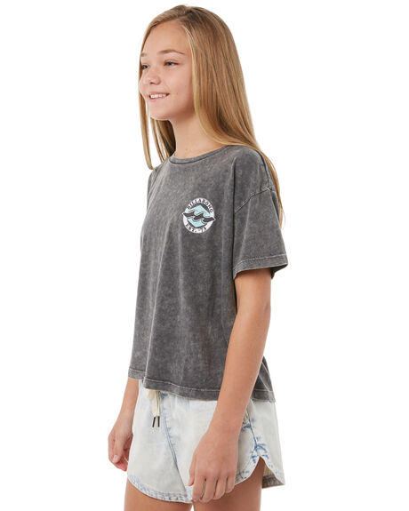 OFF BLACK KIDS GIRLS BILLABONG TEES - 5585001BLK