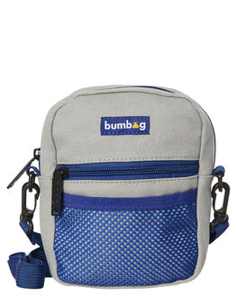 GREY MENS ACCESSORIES THE BUMBAG CO BAGS + BACKPACKS - CB010GRY