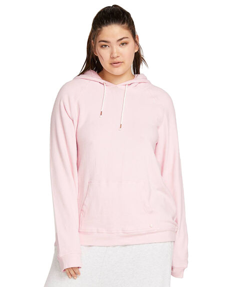 BLUSH PINK WOMENS CLOTHING VOLCOM JUMPERS - CB3111801BUP