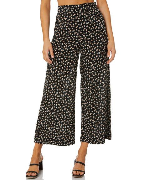 BLACK WOMENS CLOTHING RUSTY PANTS - PAL1209BLK