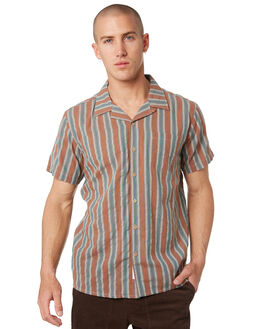 RUST MENS CLOTHING THE CRITICAL SLIDE SOCIETY SHIRTS - SS1864RUST