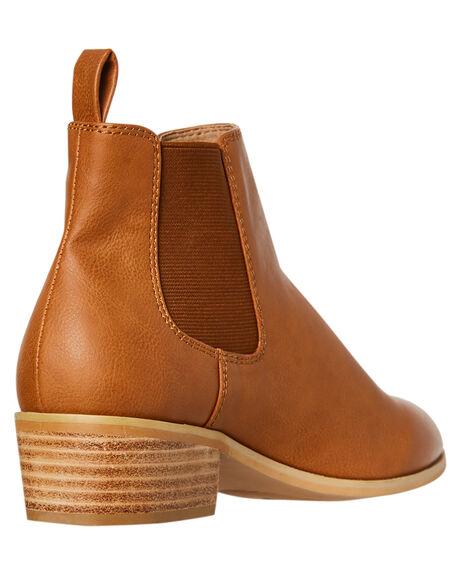 TAN WOMENS FOOTWEAR BILLINI BOOTS - B961TAN