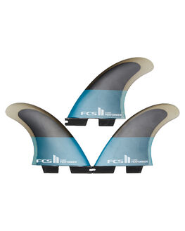 TEAL BLACK BOARDSPORTS SURF FCS FINS - FPER-PC04-TS-RTEABK