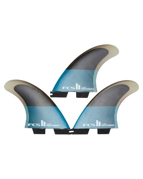 TEAL BLACK BOARDSPORTS SURF FCS FINS - FPER-PC04-TS-RTEABK