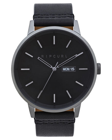 BLACK MENS ACCESSORIES RIP CURL WATCHES - A30840090