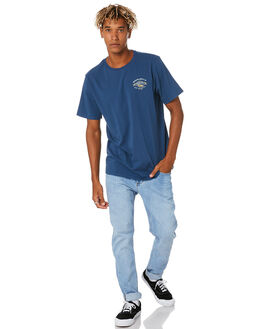 NAVY MENS CLOTHING DEPACTUS TEES - D5204001NAVY