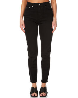 BLACK INK WOMENS CLOTHING ZIGGY JEANS - ZW-1294BLKI