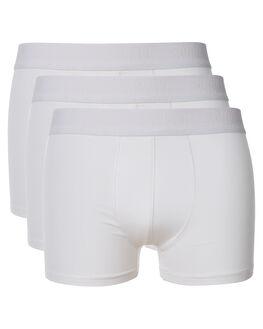 ALL WHITE MENS CLOTHING SWELL SOCKS + UNDERWEAR - S5164421ALWHI