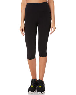 BLACK WOMENS CLOTHING LORNA JANE ACTIVEWEAR - LB0190BLK