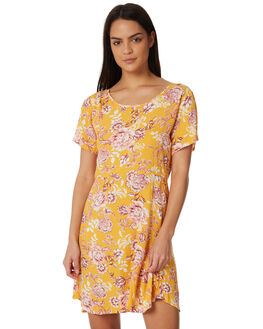 SUMMER FLORAL PRINT WOMENS CLOTHING ALL ABOUT EVE DRESSES - 6423051PRNT