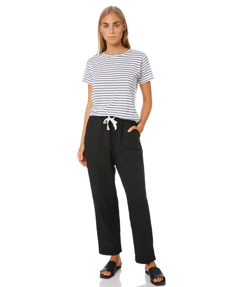 BLACK WOMENS CLOTHING NUDE LUCY PANTS - NU23276BLK
