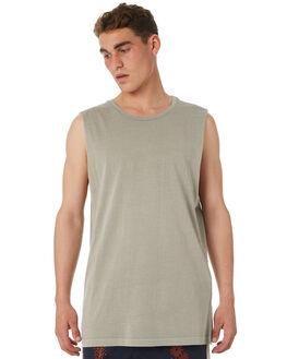 OVERCAST MENS CLOTHING RVCA SINGLETS - R181013OCST