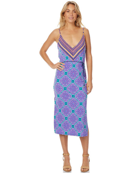 COBALT WOMENS CLOTHING TIGERLILY DRESSES - T375414COBL