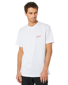 WHITE MENS CLOTHING HUFFER TEES - MTE94J4035134WHT