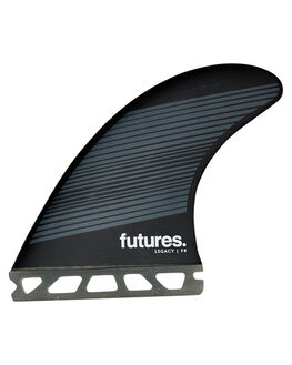 GREY BLACK BOARDSPORTS SURF FUTURE FINS FINS - 1175-160-00GRYBK
