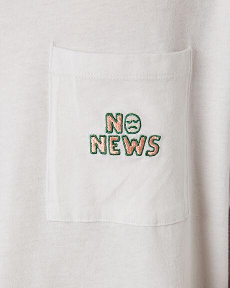 PIGMENT GREY OUTLET MENS NO NEWS TEES - N5202001PIGGY