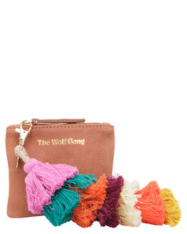 TERRACOTTA WOMENS ACCESSORIES THE WOLF GANG PURSES + WALLETS - TWGINC002TER